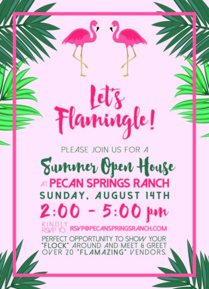 Pecan Spring Ranch Wedding Venue Open House