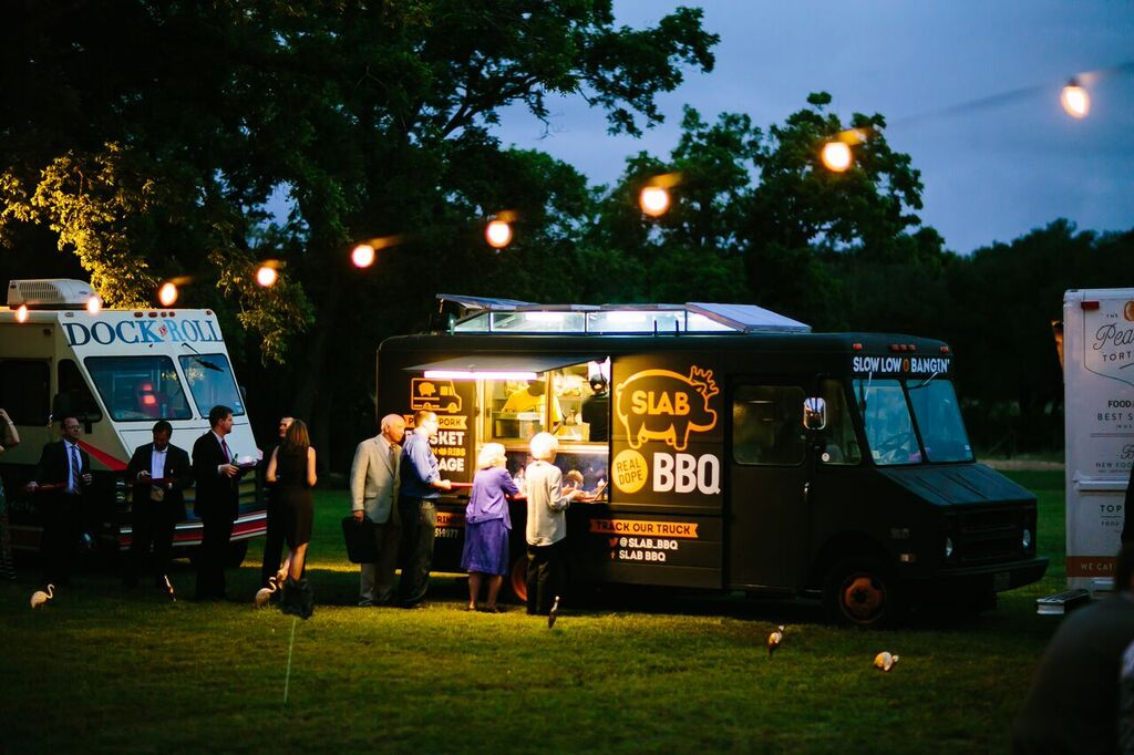 Food Trucks At Weddings May Be Your Caterer